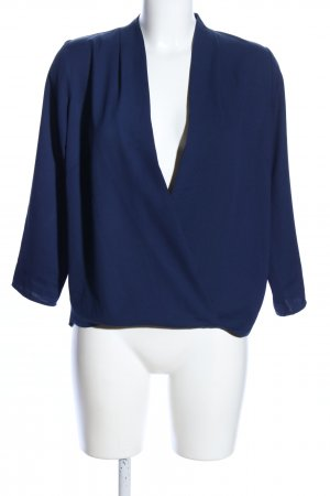 Traffic people Wickel-Bluse blau Business-Look