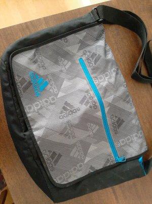 Adidas Borsa sport nero-blu acciaio