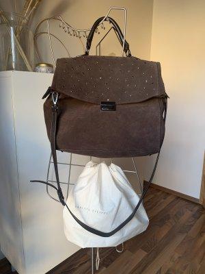 Fabiana Filippi Crossbody bag black brown leather