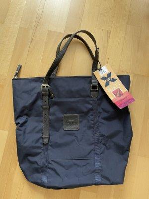 Bric's Schoudertas donkerblauw-blauw
