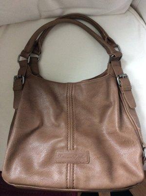 Fritzi aus preußen Shopper bronze-colored-orange imitation leather