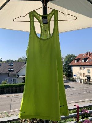 Training Tanktop Sportshirt von NIKE in neongelb