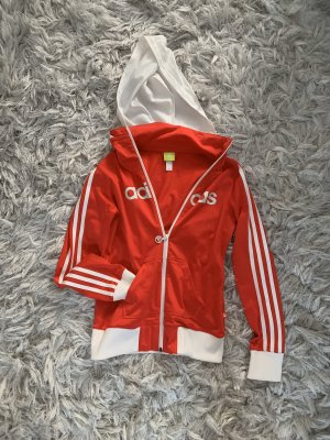 Adidas Blousejack wit-rood