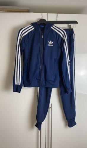 Adidas Kurtka sportowa niebieski-biały