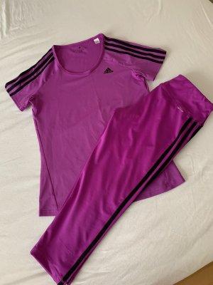 Adidas Garnitur damski ciemny fiolet