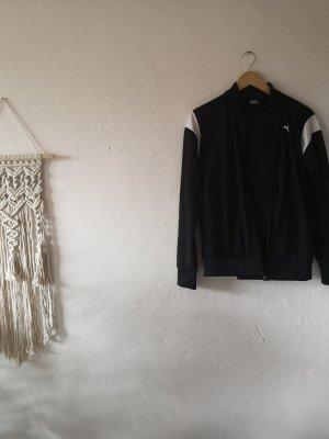 Puma Sportjack wit-zwart