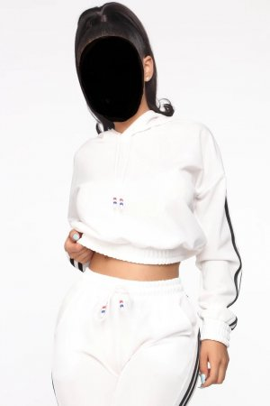 Fashion Nova Tenue pour la maison blanc polyester