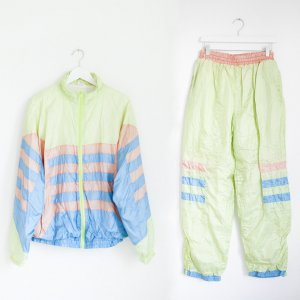 Trainingsanzug Shell Sportjacke und Hose aus den 90ern True Vintage