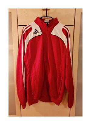 Adidas Giacca fitness rosso
