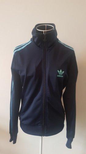 Adidas Veste de sport bleu clair-bleu