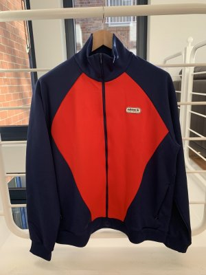 Adidas Originals Sweat Jacket red-blue