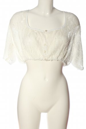 Tramontana Cropped Top weiß Casual-Look