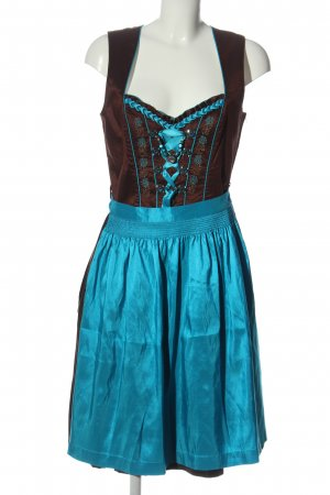Tramontana Dirndl brown-turquoise classic style