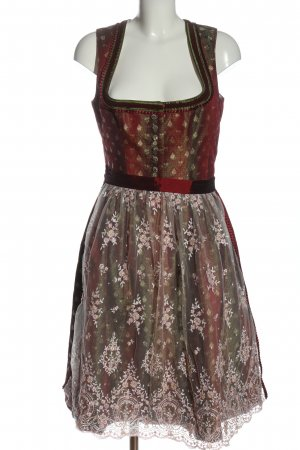 Tramontana Dirndl red allover print classic style