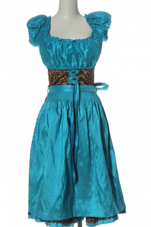 Tramontana Dirndl turquoise-brun polyester