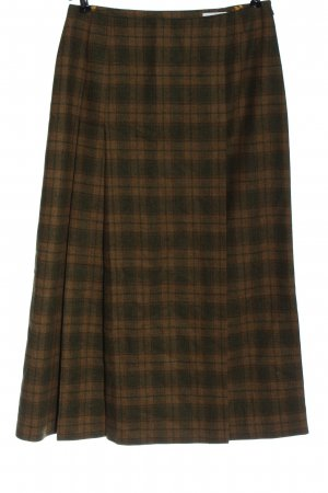 Tramontana High Waist Skirt brown-khaki allover print casual look