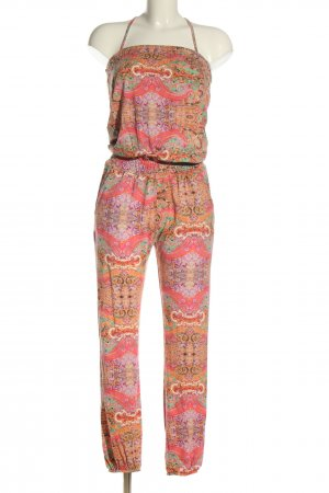 Tramontana Jumpsuit Allover-Druck Casual-Look