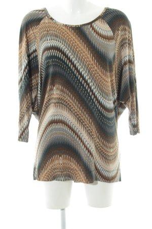 Tramontana Print-Shirt abstraktes Muster Casual-Look