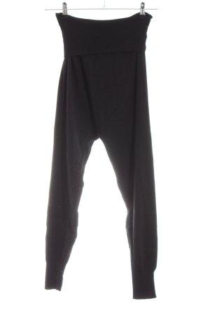 Tramontana Pantalon large noir style décontracté