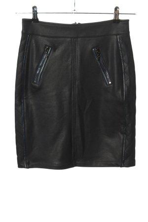 Tramontana Jupe stretch noir style décontracté