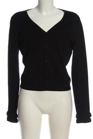 Tramontana Knitted Cardigan black casual look
