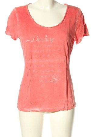 Tramontana T-Shirt pink flecked casual look