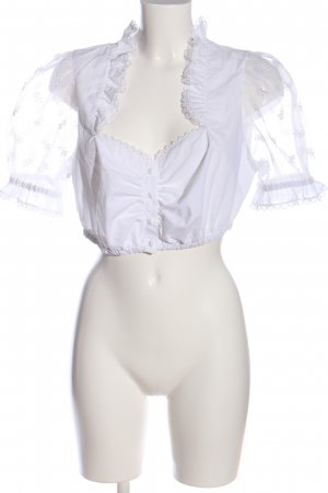 Tramontana Traditional Blouse white classic style