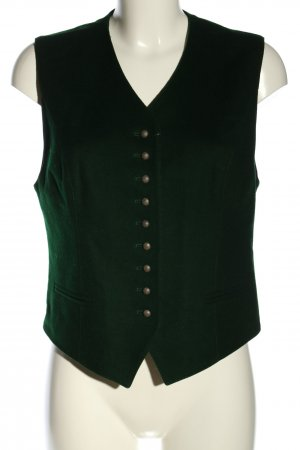 Tramontana Traditional Vest forest green classic style