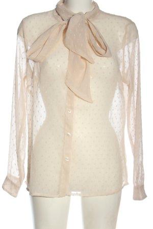Tramontana Transparent Blouse nude elegant