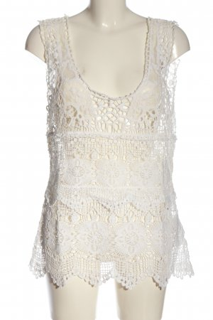 Tramontana Transparent Blouse white casual look