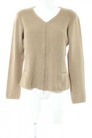 TRANSIT PAR-SUCH Strickjacke braun Casual-Look