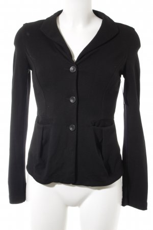 TRANSIT PAR-SUCH Sweatblazer schwarz Casual-Look