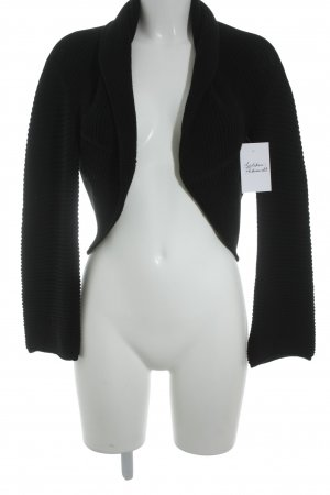 Transit Knitted Bolero black casual look