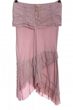 Transit High Low Dress pink casual look