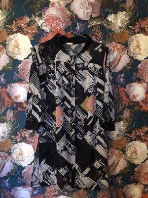 Nümph Abito blusa camicia multicolore