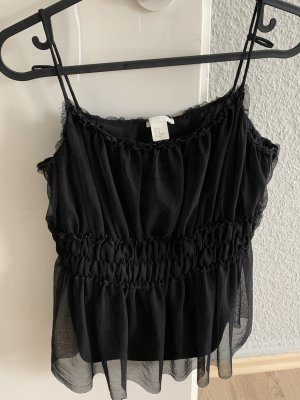 H&M Basic topje zwart