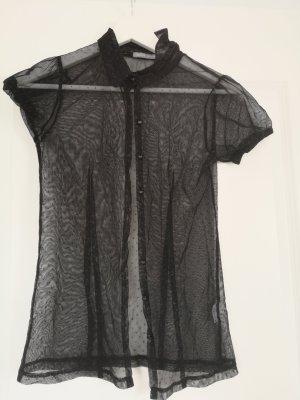 3 Suisses Transparent Blouse black