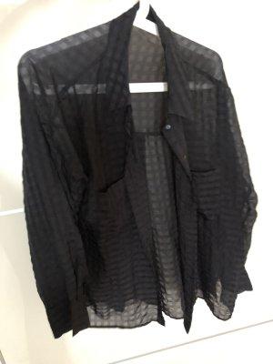 Zara Bluzka oversize czarny