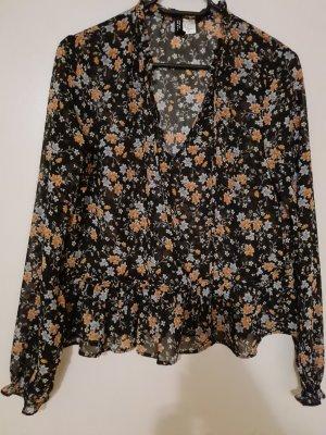 H&M Divided Koszulowa sukienka czarny
