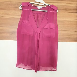 Cotton On Blouse Top magenta