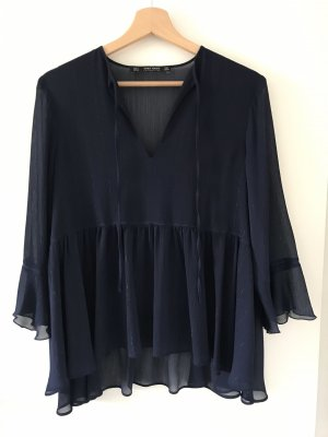 Transparente Bluse