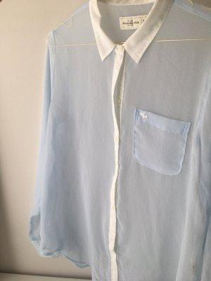 Transparente Bluse l sommerlich luftig leicht