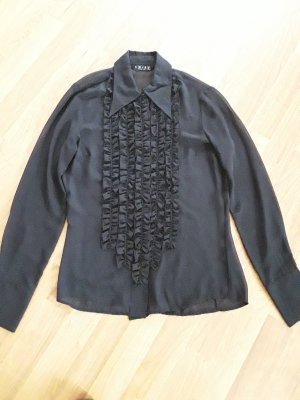 Amisu Transparent Blouse black