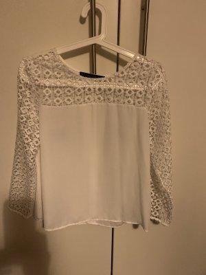 Transparente Bluse mit tollen besonderen Ärmeln
