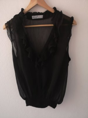 Zara Trafaluc Blouse topje zwart