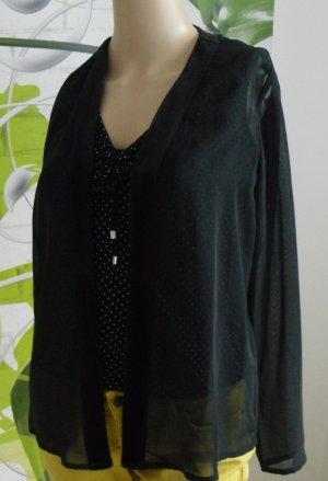 Vivien Caron Transparent Blouse black