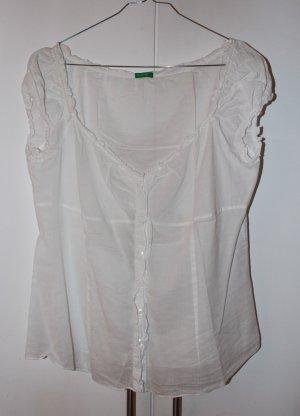 Transparente Bluse von BENETTON