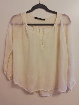 Transparente Bluse von Zara in XS