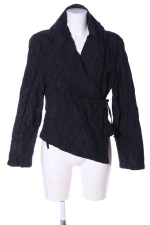 Transparente Blouse Jacket black casual look
