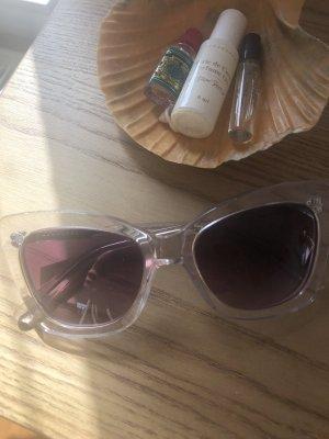 Transparente Cat Eye Sonnenbrille von & Other Stories